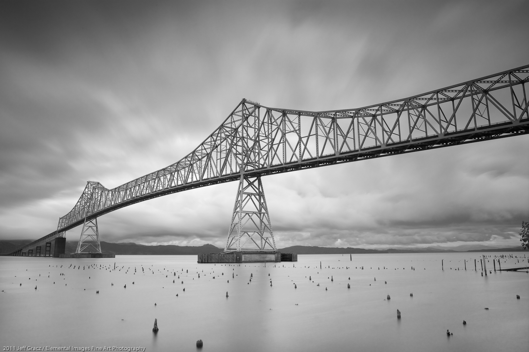 Astoria Bridge I | Astoria | OR | USA - © 2011 Jeff Gracz / Elemental Images Fine Art Photography - All Rights Reserved Worldwide