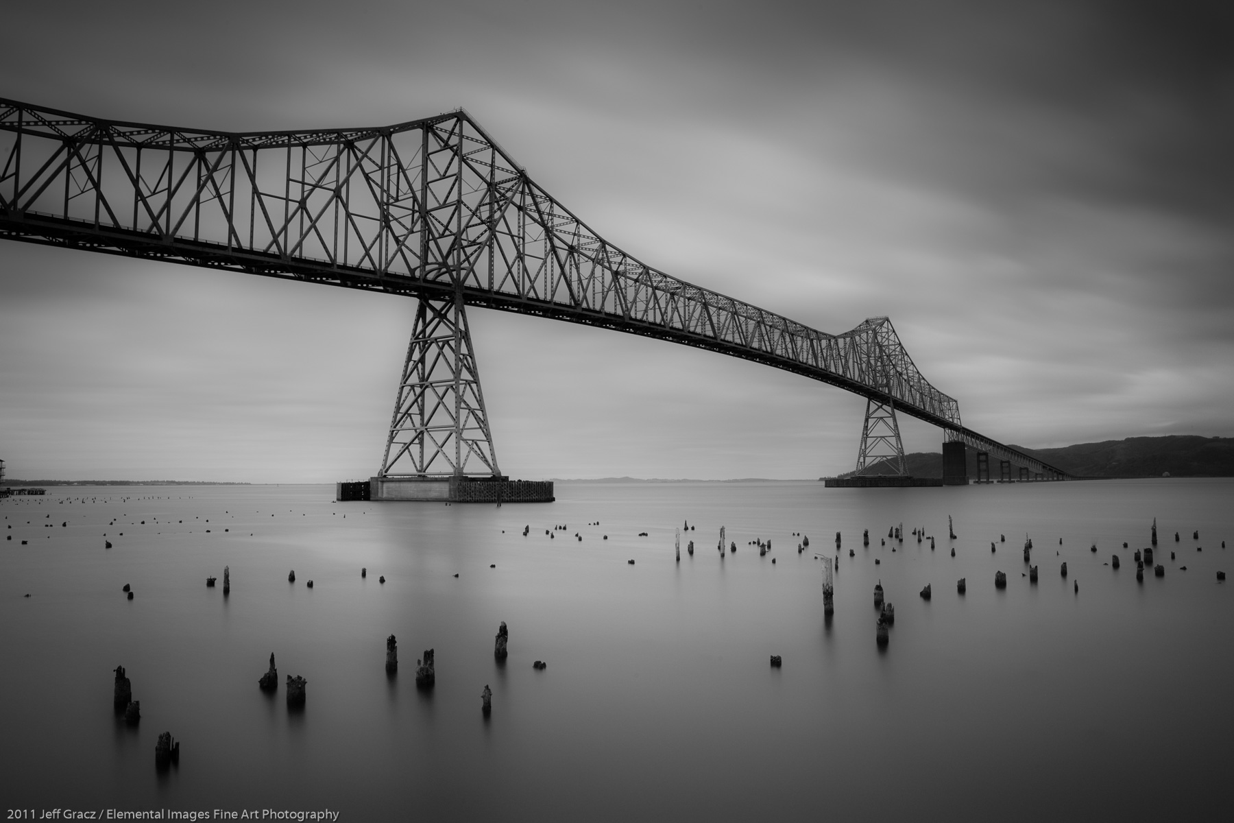 Astoria Bridge III | Astoria | OR | USA - © 2011 Jeff Gracz / Elemental Images Fine Art Photography - All Rights Reserved Worldwide