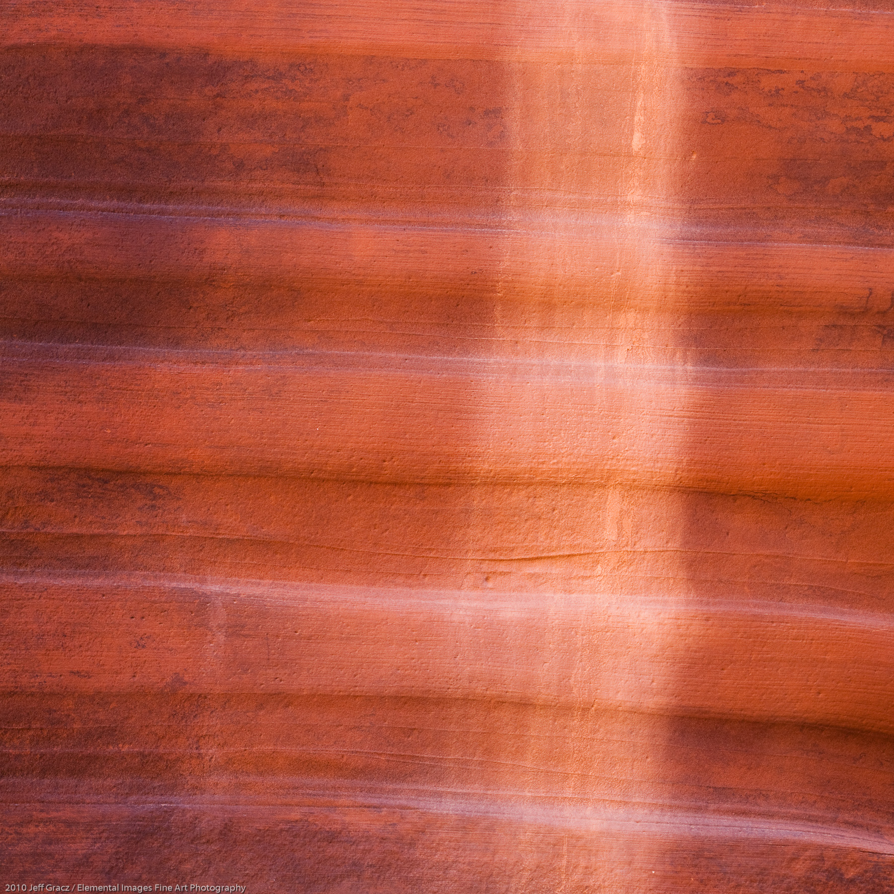 Canyon Wall Abstract I | Paria Canyon / Vermillion Cliffs Wilderness | AZ | USA - © 2010 Jeff Gracz / Elemental Images Fine Art Photography - All Rights Reserved Worldwide