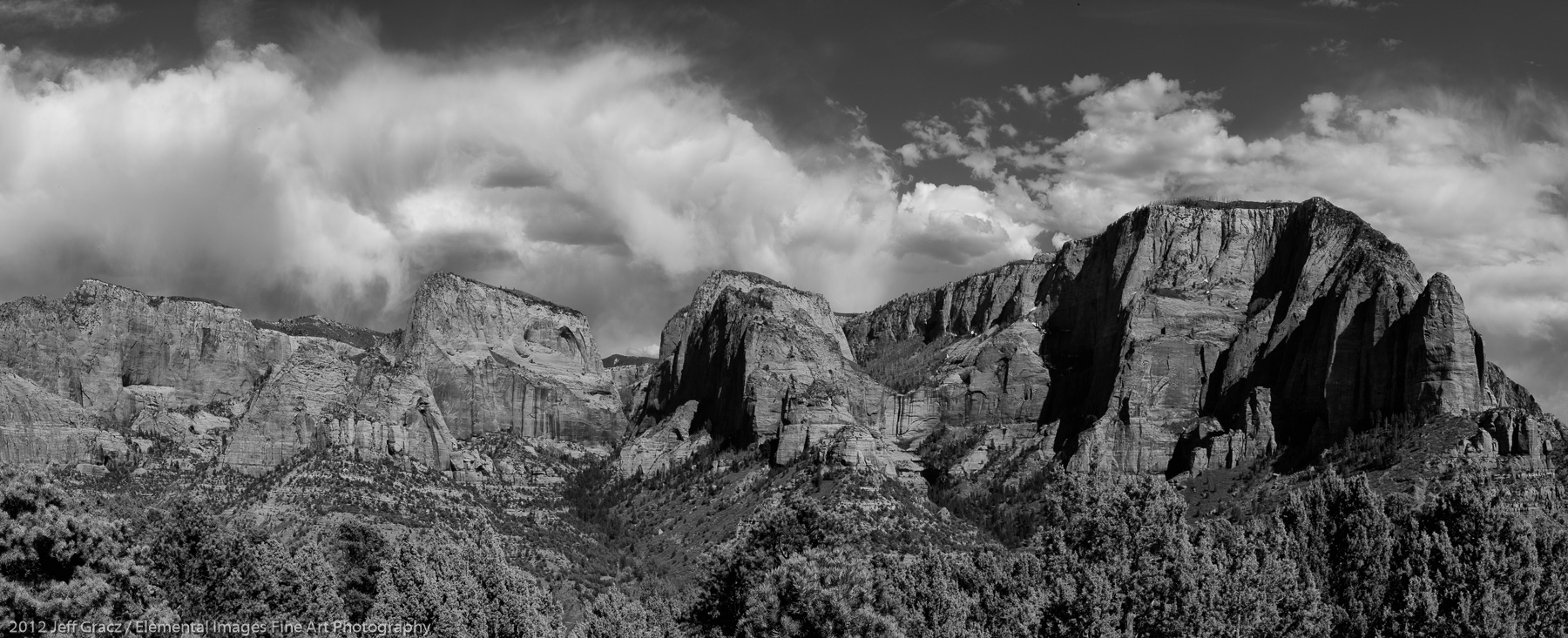 The Kolob Canyons | Zion National Park | UT | USA - © 2012 Jeff Gracz / Elemental Images Fine Art Photography - All Rights Reserved Worldwide