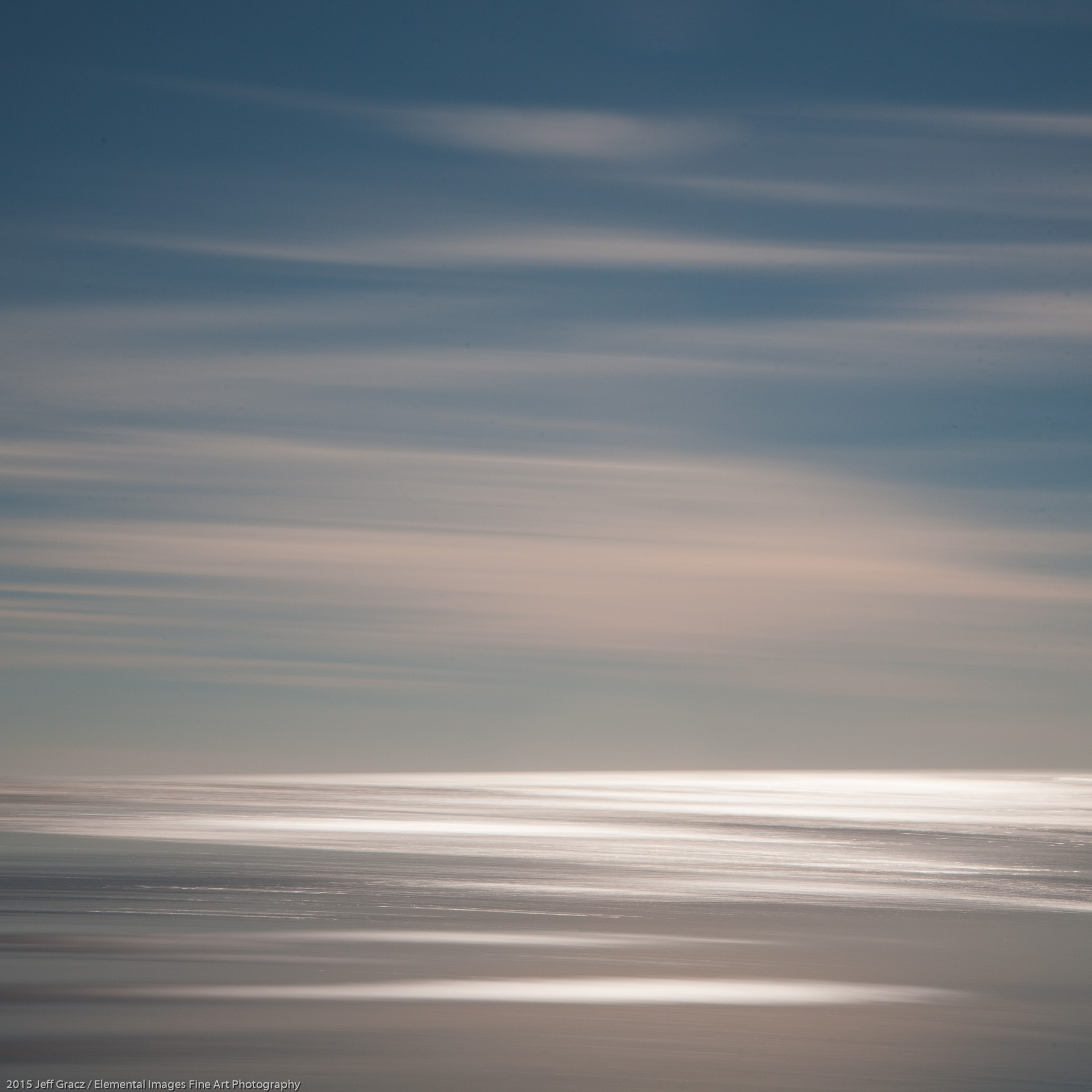 Sea and Sky XLIV | Long Beach | WA | USA - © 2015 Jeff Gracz / Elemental Images Fine Art Photography - All Rights Reserved Worldwide