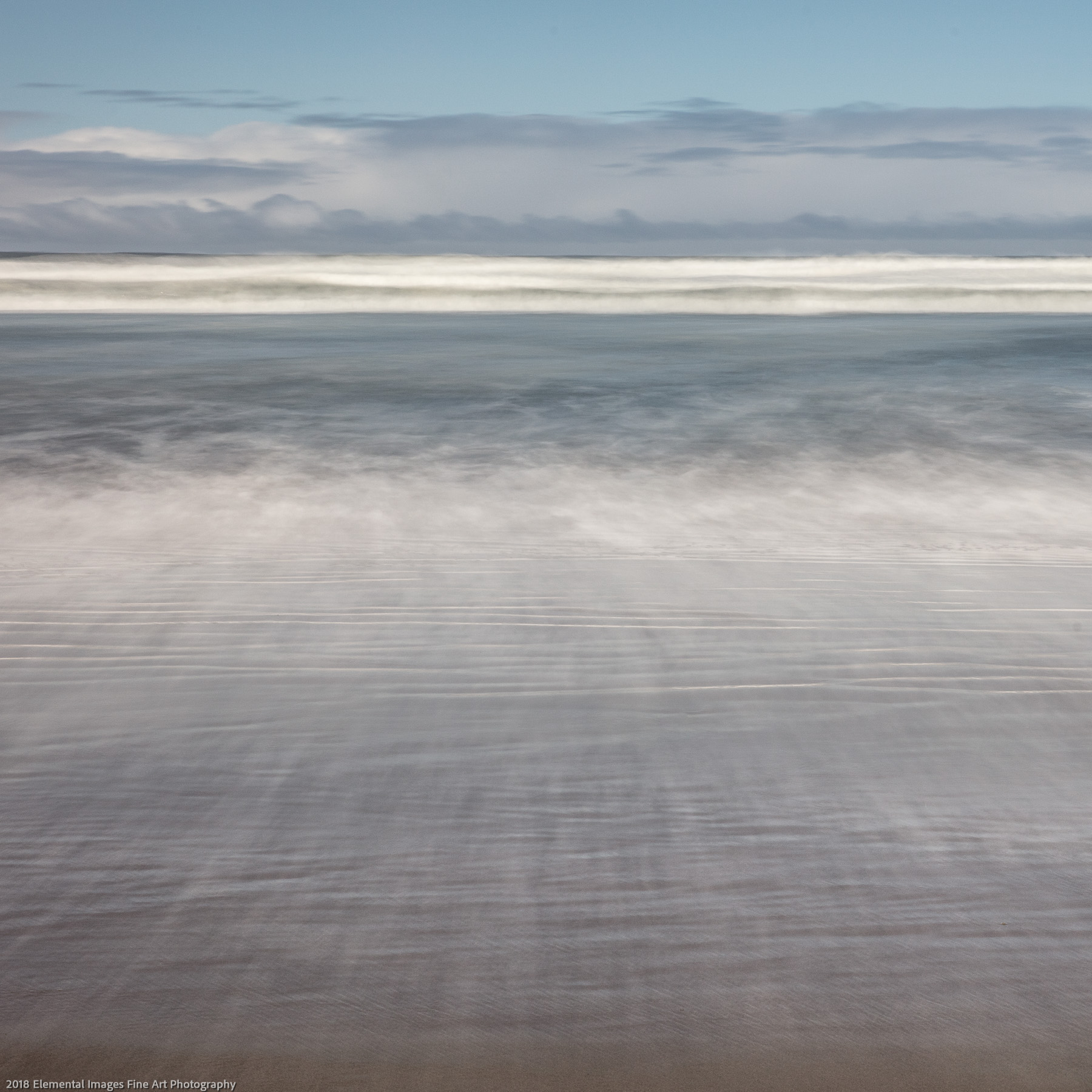 Sea and Sky #96 | Bandon | OR | USA - © 2018 Elemental Images Fine Art Photography - All Rights Reserved Worldwide