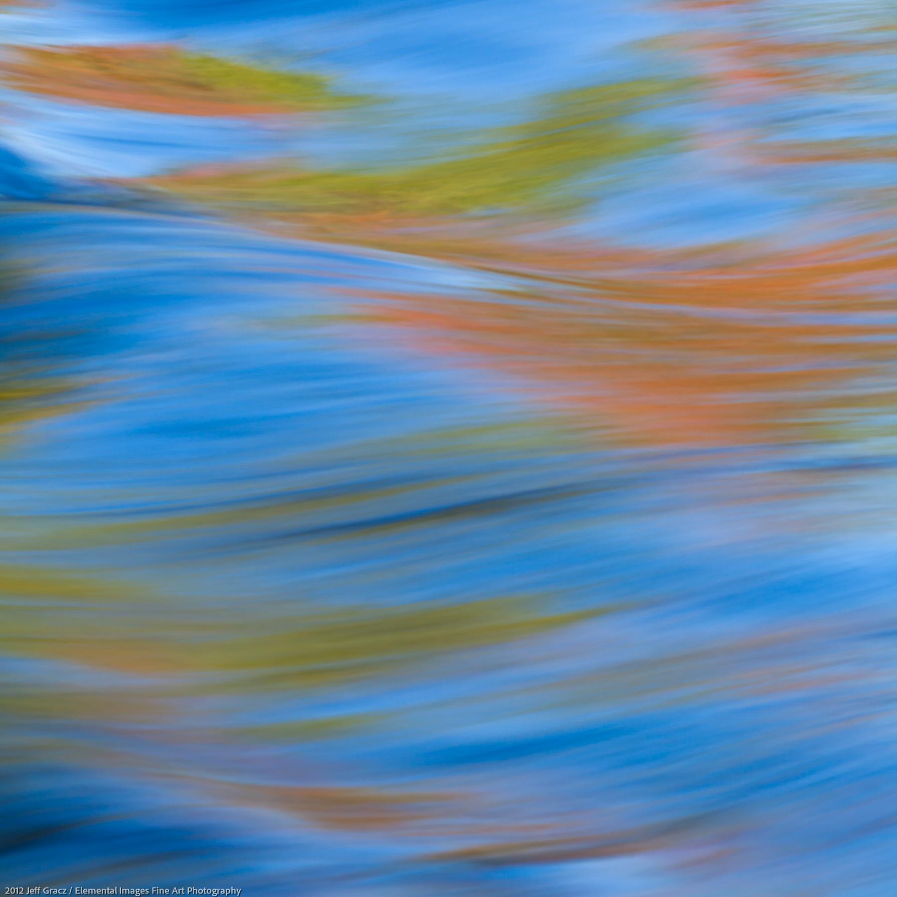 Water Pattern VIII | Kejimkujik National Park | Nova Scotia | Canada - © 2012 Jeff Gracz / Elemental Images Fine Art Photography - All Rights Reserved Worldwide
