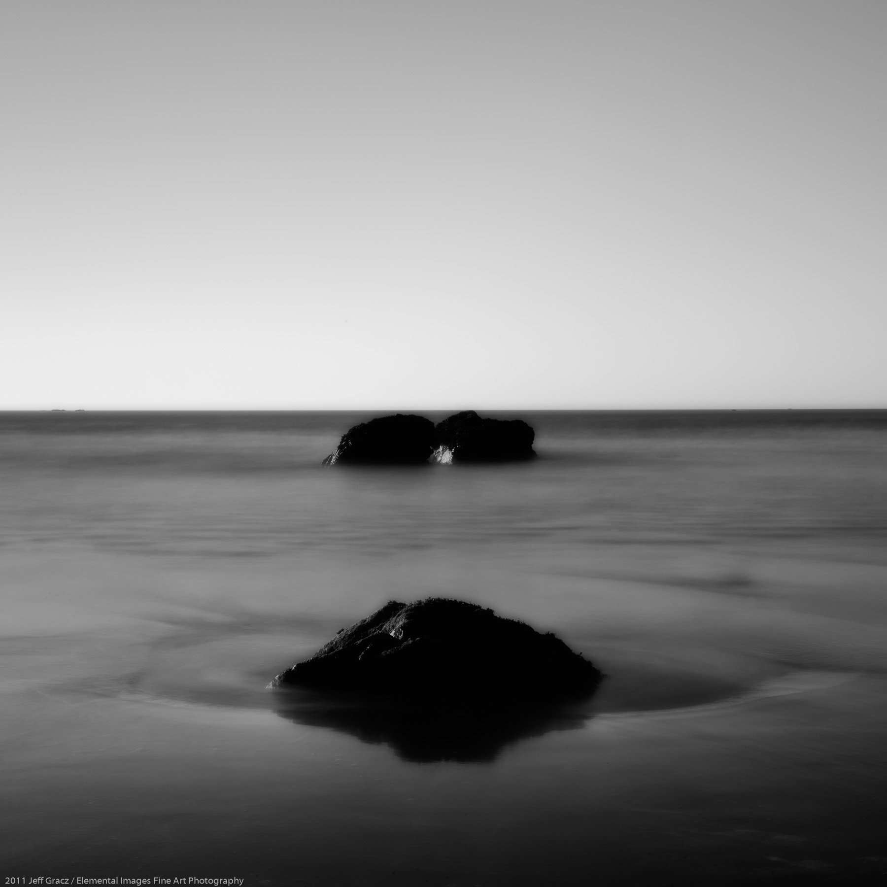 Zen Rocks IV | Trinidad | CA | USA - © 2011 Jeff Gracz / Elemental Images Fine Art Photography - All Rights Reserved Worldwide