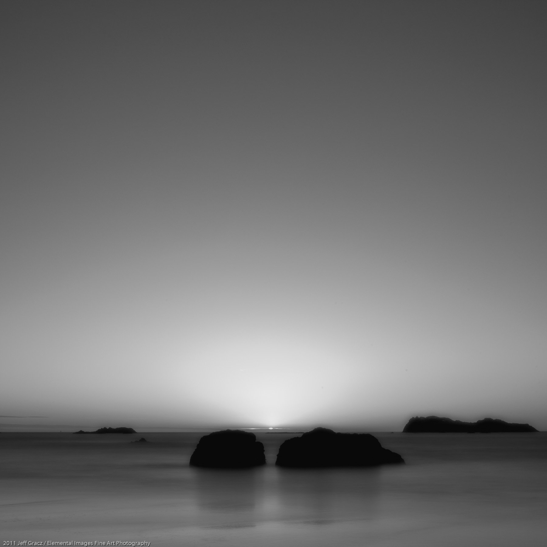 Zen Rocks V | Trinidad | CA | USA - © 2011 Jeff Gracz / Elemental Images Fine Art Photography - All Rights Reserved Worldwide