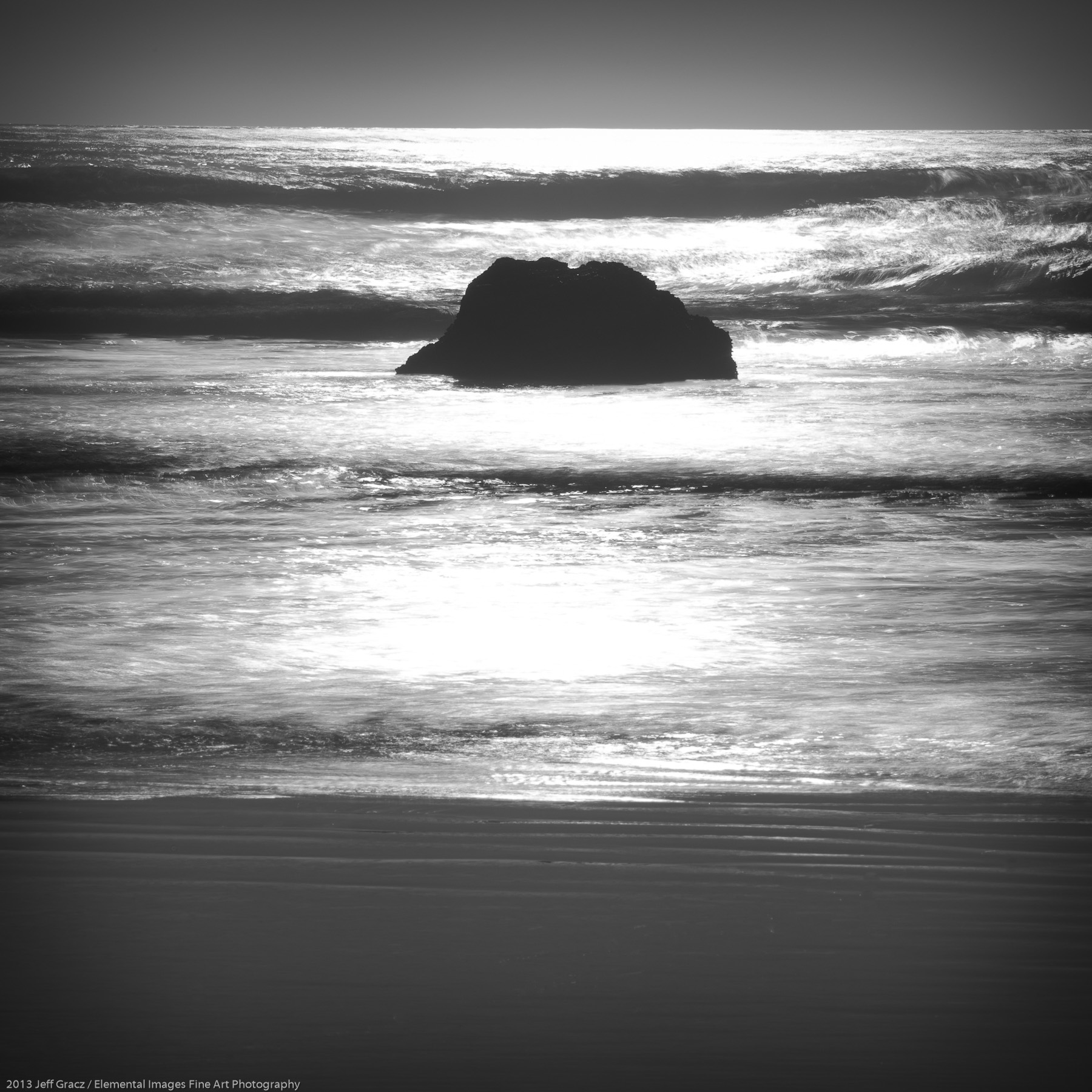 Zen Rocks VI | Cannon Beach | OR | USA - © 2013 Jeff Gracz / Elemental Images Fine Art Photography - All Rights Reserved Worldwide